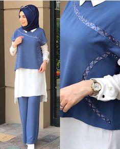 Fashion Inspiration – Best Of Likes Share Abaya Fashion, Muslim Fashion, Fashion Dresses, Hijab Style, Hijab Chic, Stylish Dresses, Stylish Outfits, Pakistani Dresses Casual, Islamic Clothing