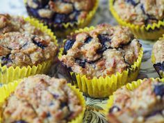 Almond Berry Muffins - a great way to use up almond pulp if you make almond milk (but you could also use bought almond and coconut flour)! We make these once every few weeks as the kids love them!
