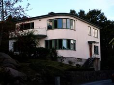Yes please. Functionalist one-family house, Sweden, c.1930s.