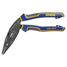 IRWIN Tools VISE-GRIP Pliers, Long Nose Ergonomic Multi Plier, 8-inch (1902419) Irwin Tools http://www.amazon.com/dp/B00N3VSS4S/ref=cm_sw_r_pi_dp_RxVXub0N7CZ76