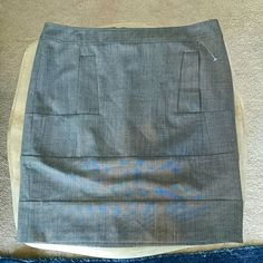See by Chloe  Uni-pocket Mini Skirt Like new and 100% authentic. Only worn once. No damages or signs of wear. Features a uni-pouch pocket in the front and exposed back zipper. Fully lined. 53% polyester, 43% lightweight wool. Very lightweight garment Chloe Skirts Mini