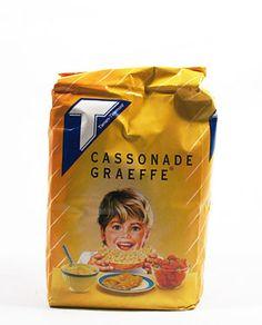 Cassonade Graeffe Tiense suiker, Belgian sugar - just realised I really do miss this sugar here in Tenerife ;-)
