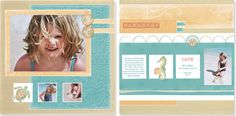 That's my baby girl!!!  One of the two fun layouts you can create with the Workshops on the Go™ Footloose kit. #CTMH