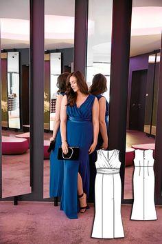 Dress Burda plus 10/15 130 Stretch fabrics only