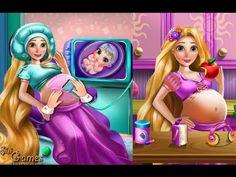 Rapunzel Pregnant Check-Up - Tangled Rapunzel Games