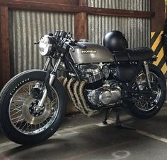 73' Honda CB750 by @ba_vintagemotors