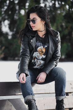 Goth Pinup Clothing Fashionable Plus Size Grunge Witchy Alternative Punk fashion. Grunge Outfits, 90s Fashion Grunge, Pin Up Outfits, Punk Outfits, 90s Grunge, Mode Outfits, Punk Fashion, Womens Fashion, Stylish Outfits