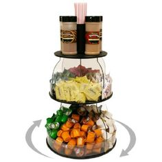 """Amazon.com: Coffee Condiment Organizer 12"""" W X 16"""" H. Plus Comes with Removable Stirrer Holder on Top. Has 8 Generous Compartments Great for K-Cups and Condiments. Sturdy & Break Resistant. Proudly Made in the USA ! and Only by PPM.: PPM: Home & Kitchen"""