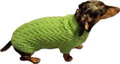 Chevron Dog Sweater Pattern