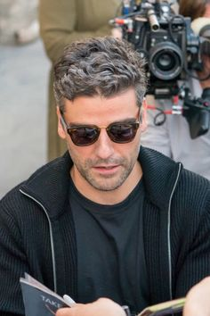 "Oscar Isaac outside studio at ""Jimmy Kimmel Live!"" in Los Angeles, CA. (1st December, 2017)"