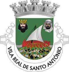 Municipality of Vila Real de Santo António, Faro, Portugal (Area 60.9 Km²) #VilaRealdeSantoAntónio #Faro #Portugal (L17509)