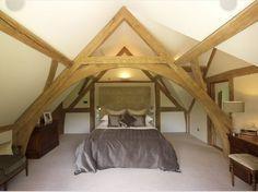 Oakwrights oak frame house bedroom images