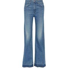 Rag & bone Justine mid-rise flared jeans