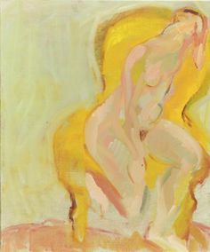 The Yellow Chair, Rose Hilton Figure Painting, Painting & Drawing, Yellow Art, Post Impressionism, French Art, Figurative Art, Tate Britain, Arts And Crafts, My Arts