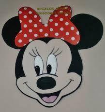 Resultado de imagen para carita de minnie mouse en foami