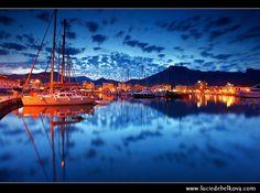 Spain - Mallorca - Magical Dusk at Marina of Port de Pollença (Puerto Pollensa)