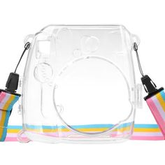 Portable Lightweight Cover Practical Protective With Strap Camera Case Housing Transparent Dustproof For Instax Mini 8 9 Instax Mini Case, Fuji Instax Mini, Fujifilm Instax Mini 8, Polaroid Camera Instax, Polaroid Cases, Camara Fujifilm, Camera Cover, Mini Camera, Instant Camera
