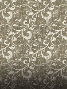 Vintage Wallpaper Seamless Pattern | vintage swirls description grungy seamless repeat pattern with vintage ...