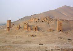 Grabtürme in Palmyra: Die Bauwerke waren mehr als zweitausend Jahre alt