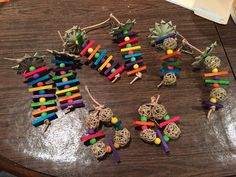 The birds love balsa, vine balls, and palm leaves, so I decided to just buy a shit ton of toy parts and make my own toys. $23 in parts for 8 toys plus leftover replacement parts…. Saved a significant amount of money!!  And I know they will play with all of them!