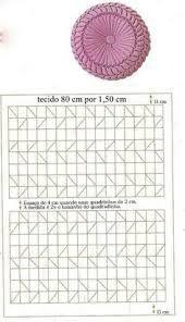 Resultado de imagen para cojines drapeados patrones en forma de