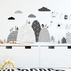 S našimi dizajnovými nálepkami bude stena v detskej izbe vyzerať skvelo. Bude, Arches, Baby Room, Decals, Home Decor, Colors, Tags, Decoration Home, Room Decor