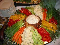 veggie trays for wedding receptions | Wedding Reception Vegetable Trays | Wedding Reception Vegetable And ...