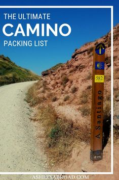 Are you planning to walk the Camino? Here is the ultimate packing list for the Camino. Find out all the gear you'll need for your Camino and what you don't need. Top Travel Destinations, Europe Travel Tips, Spain Travel, European Destination, European Travel, Ultimate Packing List, Europe Bucket List, Road Trip Europe, The Camino