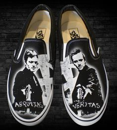 The Boondock Saints Vans! I want!!!!