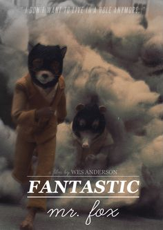 Fantastic Mr. Fox movie poster.