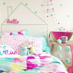 5 Minute DIY – four cheeky monkeys – kids bedroom Girls Bedroom, Bedroom Decor, Bedroom Ideas, Little Girl Rooms, Awesome Bedrooms, Fashion Room, Baby Decor, Decoration, Room Inspiration
