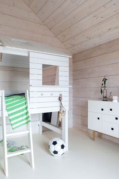 Kohde 18 Honka Savukvartsi Attic Spaces, Log Homes, Scandinavian Style, Finland, Kids Room, Nursery, Interiors, Decoration, Toys