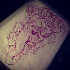 Possible side tattoo. I've always wanted an elephant tattoo.
