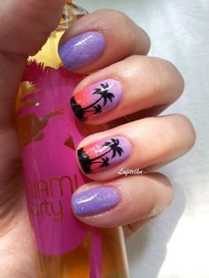 Image result for summer nail stamping