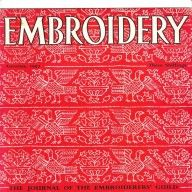Vintage Embroidery Journal from the Embroiderer Guild-interesting articles, lots of other issues available too