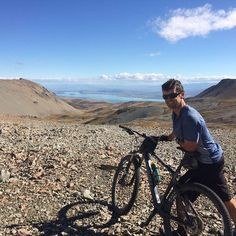Dan's escaped the office and doing an epic mountain bike over fours days down to Wanaka. Stag Saddle
