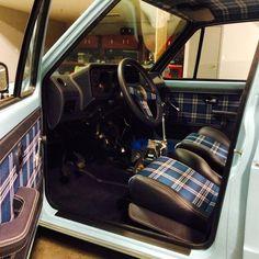 Post your rabbit pickup Vw Mk1 Rabbit, Vw Rabbit Pickup, Vw Pickup, Volkswagen Golf Cabriolet, Cabrio Vw, Vw Caddy Mk1, Volkswagen Caddy, Automotive Upholstery, Car Upholstery