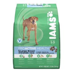 IAMS PROACTIVE HEALTH Large Breed Adult Dry Dog Food 175 Pounds -- To view further for this item, visit the image link. (Note:Amazon affiliate link)