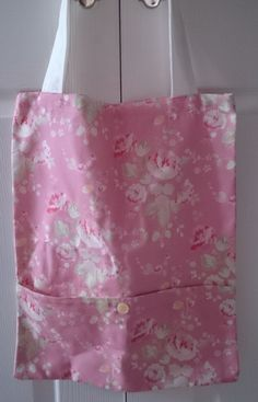 FLORAL CANVAS SHOPPER BAG