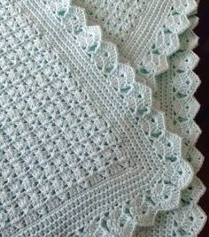 58 Ideas for crochet patterns blanket girl baby afghans Crochet Blanket Border, Baby Afghan Crochet, Crochet Borders, Baby Afghans, Crochet Blanket Patterns, Crochet Stitches, Knitting Patterns, Baby Blankets, Love Crochet