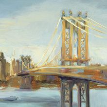 Valokuvatapetti - Sunny Manhattan Bridge
