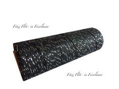 Geschenkband - Bäcker-Garn Bakers Twine schwarz silber - ein Designerstück von Fitzi-Floet bei DaWanda