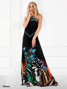 2REBEL BUTTERFLY dress Butterfly Dress, Silk Fabric, Silk Satin, Dress Making, Fabric Design, Summer Dresses, Studio, Women, Fashion