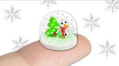 Miniature Snow Globe DIY (actually works!) - Christmas Tutorial - Yoland...