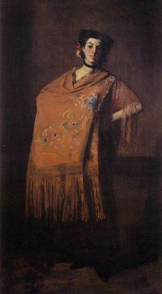 robert_henri_spanish_dancing_girl_1904