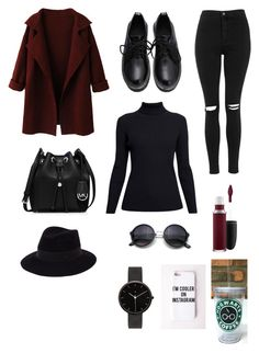 """""""Untitled #216"""" by hipster-grunge ❤ liked on Polyvore featuring WithChic, Topshop, Rumour London, MICHAEL Michael Kors, Maison Michel, MAC Cosmetics, Missguided, I Love Ugly, women's clothing and women"""