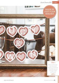Love Is In The Air From The World of Cross Stitching N°238 February 2016 2 of 5