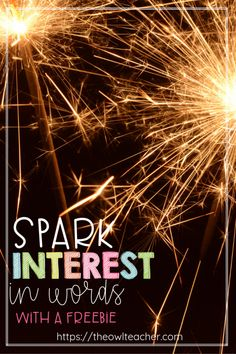 Spark an interest in words through these teaching ideas so that students become word collectors in reading and build up their vocabulary knowledge. Guided Reading Strategies, Teaching Strategies, Teaching Tips, Upper Elementary Resources, Free Teaching Resources, Vocabulary Instruction, Vocabulary Ideas, Teacher Lesson Plans, Student Motivation