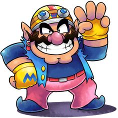 I've legit been thinking about improving Wario's design for a while now because of how dissatisfied I was with the FIRST ONE. Seriously though, compared to THIS, my older design for Wario now looks...