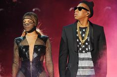 Beyonce and Jay Z perform on the opening night of the On The Run Tour at Sun Life Stadium on Wednesday, June 25, 2014, in Miami, Florida.